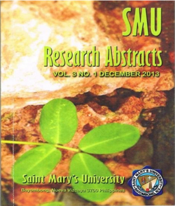 Research Abstract  2013