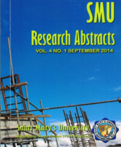 Research Abstract 2014
