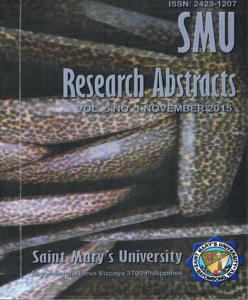 Research Abstract 2015