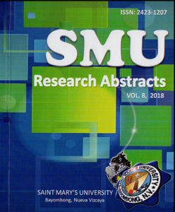 Research Abstract 2018