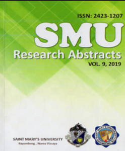 Research Abstract  2019